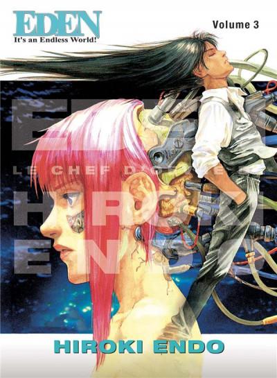 Couverture Eden - perfect edition tome 3
