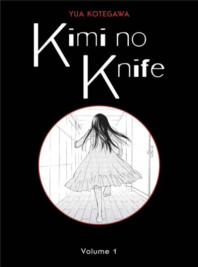 Couverture Kimi no knife tome 1
