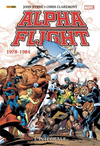 Couverture Alpha flight - intégrale 1978-1984
