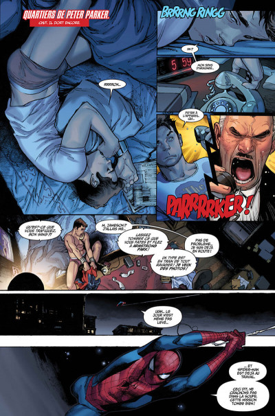 Page 7 Amazing spider-man (marvel deluxe) tome 2