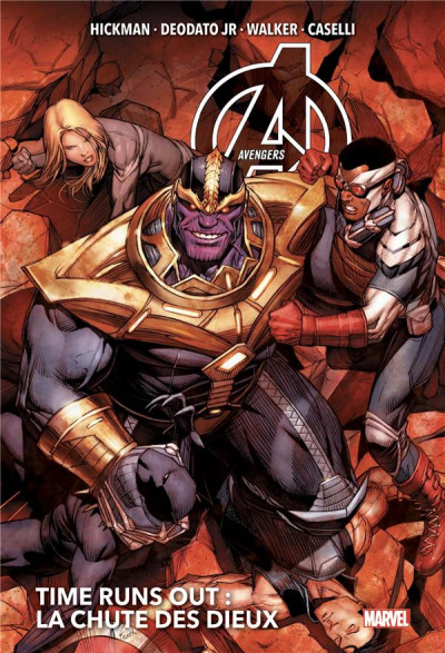 Couverture Avengers - time runs out tome 2