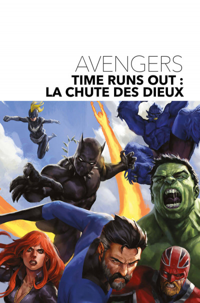 Page 1 Avengers - time runs out tome 2