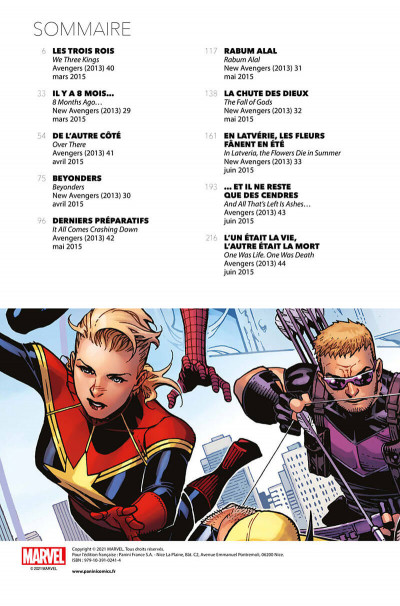 Page 2 Avengers - time runs out tome 2