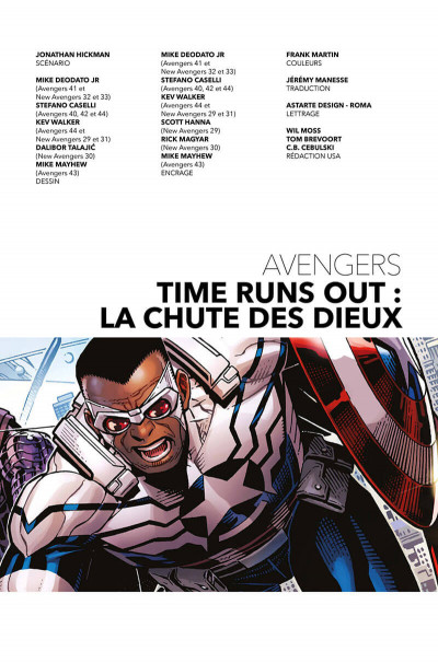 Page 3 Avengers - time runs out tome 2