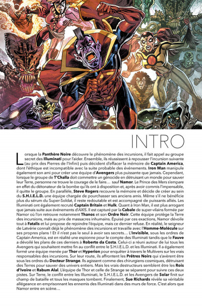Page 4 Avengers - time runs out tome 2