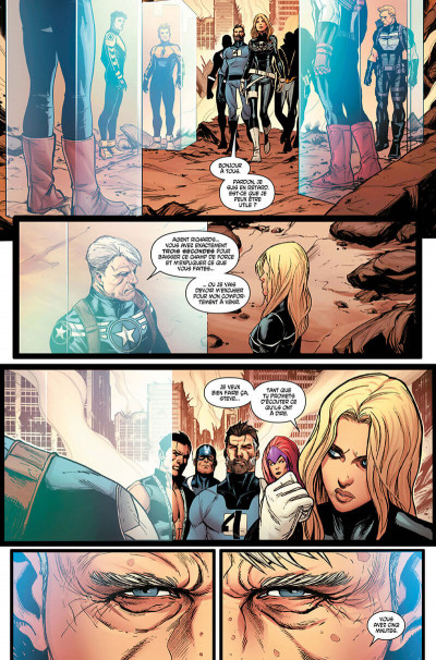 Page 8 Avengers - time runs out tome 2