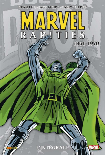 Couverture Marvel rarities - intégrale tome 1