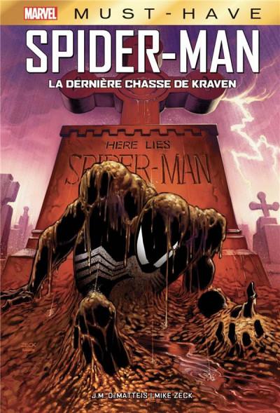 Couverture Spider-man - La dernière chasse de kraven