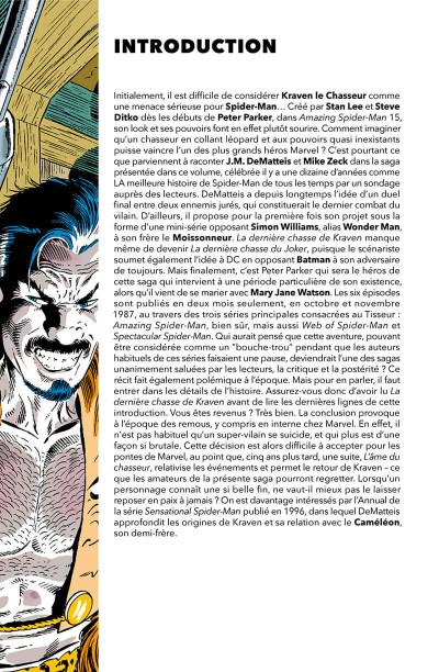 Page 4 Spider-man - La dernière chasse de kraven