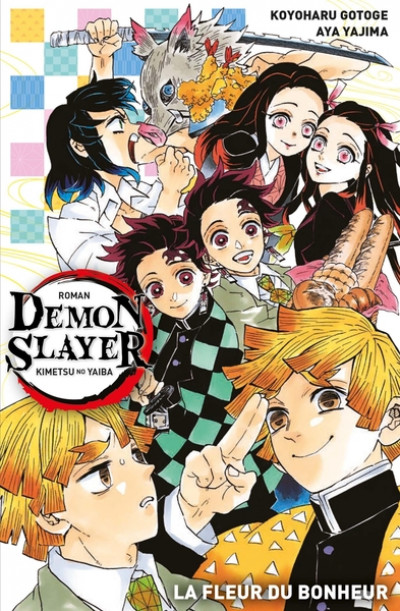 Couverture Demon slayer (roman) tome 1