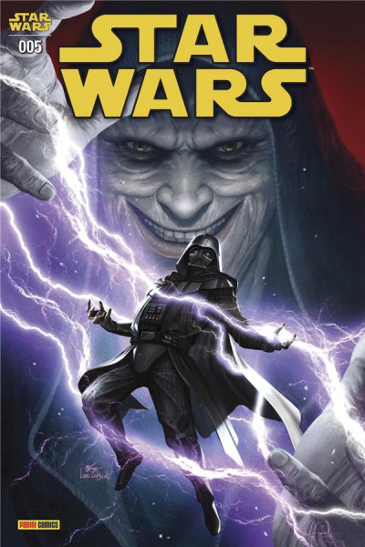 Couverture Star wars (série 2021) tome 5