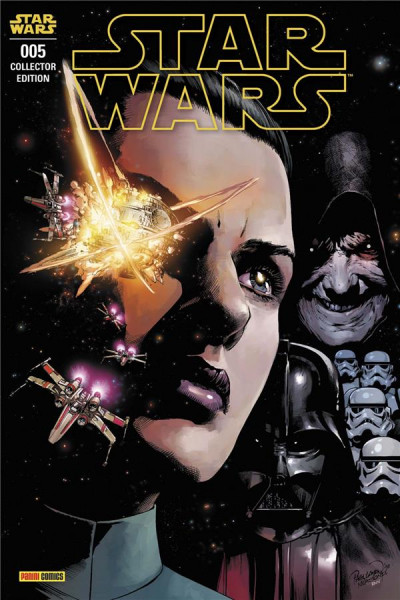 Couverture Star wars (série 2021) tome 5 (variant)