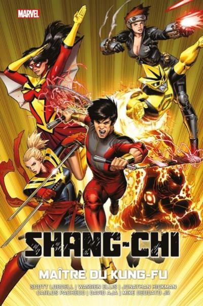 Couverture Shang-chi maitre du kung fu