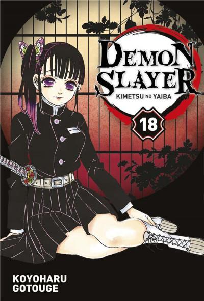 Couverture Demon slayer tome 18
