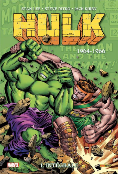Couverture Hulk - intégrale tome 2