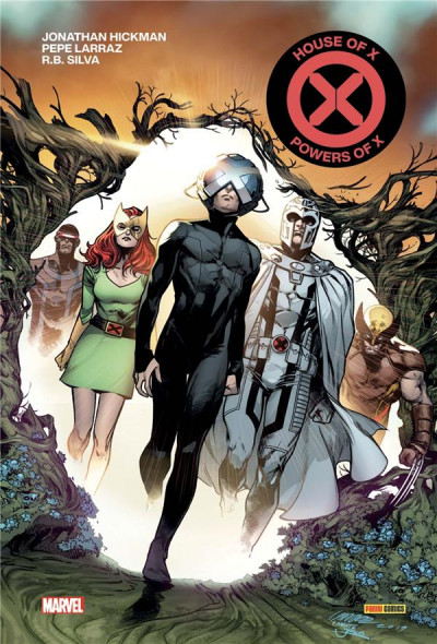 Couverture House of x / powers of x (absolute)