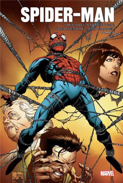 Couverture Spider-man par Straczynski tome 5