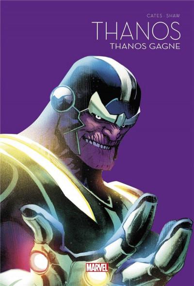 Couverture Thanos gagne - Le printemps des comics 2021