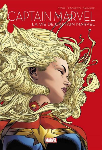 Couverture La vie de Captain Marvel - Le printemps des comics 2021