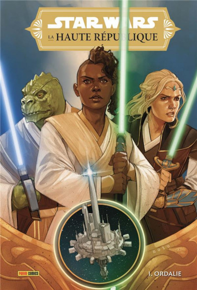 Couverture Star wars - La haute République tome 1
