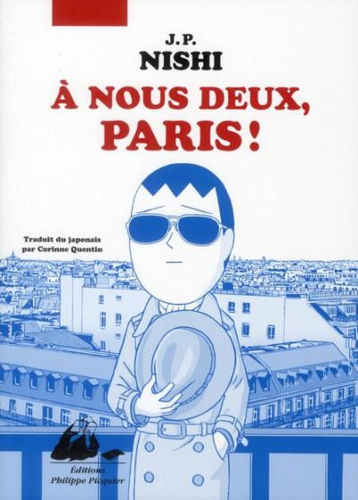 Couverture A nous deux, Paris !