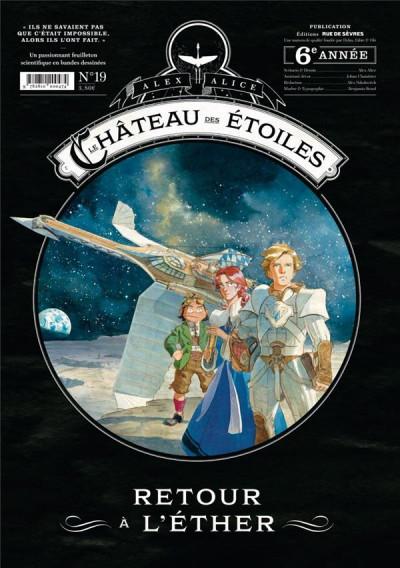 Couverture Le château des étoiles - gazette tome 19