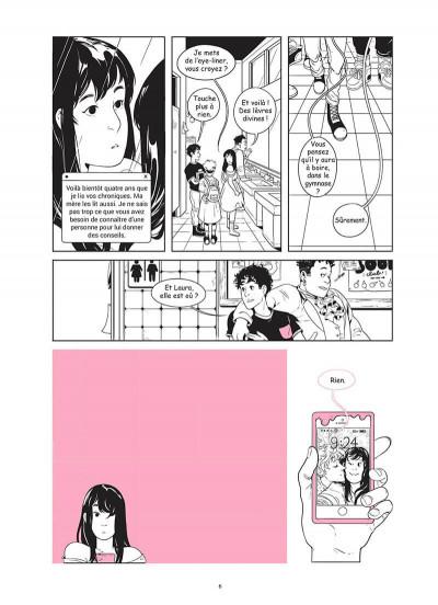 Page 5 Mes ruptures avec Laura Dean
