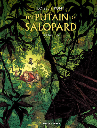 Couverture Un putain de salopard tome 2