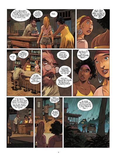 Page 8 Un putain de salopard tome 2