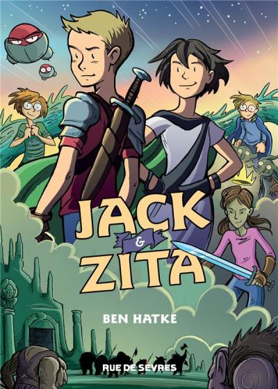 Couverture Jack le téméraire et Zita la fille de l'espace