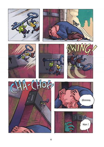 Page 9 Jack le téméraire et Zita la fille de l'espace