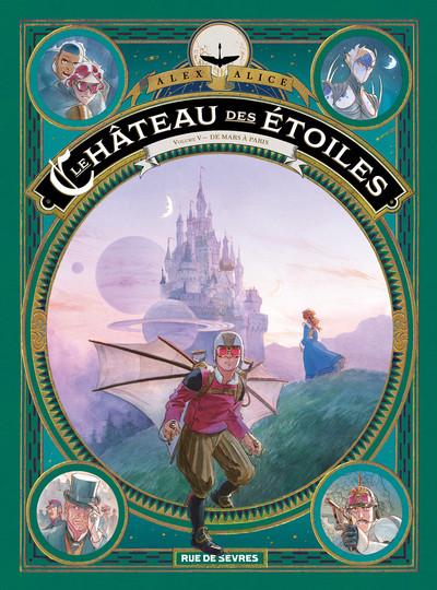 Couverture Le château des étoiles tome 5