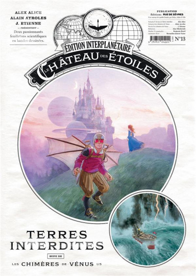 Couverture Le château des étoiles - gazette tome 13