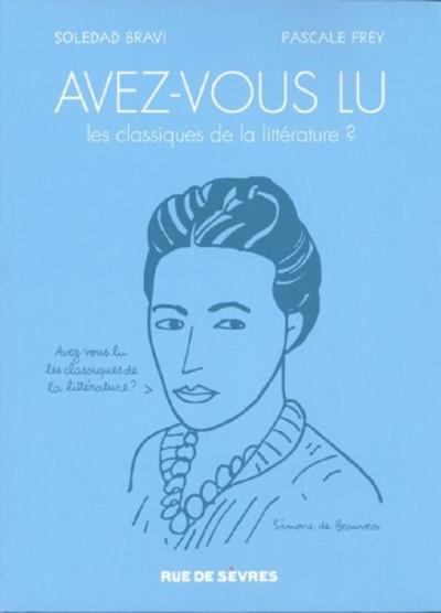 Couverture avez-vous lu les classiques de la littérature ? tome 1 et tome 2