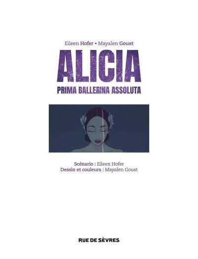 Page 6 Alicia - Prima ballerina assoluta