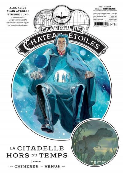 Couverture Le château des étoiles - gazette tome 14