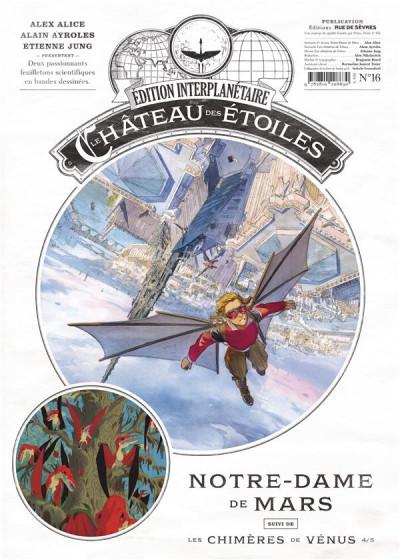 Couverture Le château des étoiles - gazette tome 16