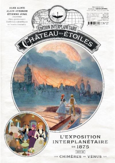 Couverture Le château des étoiles - gazette tome 17