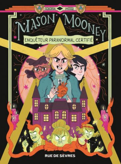 Couverture Mason Mooney - Paranormal investigator