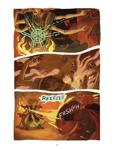Page 0 Soeurs d'Ys - La malédiction du royaume englouti
