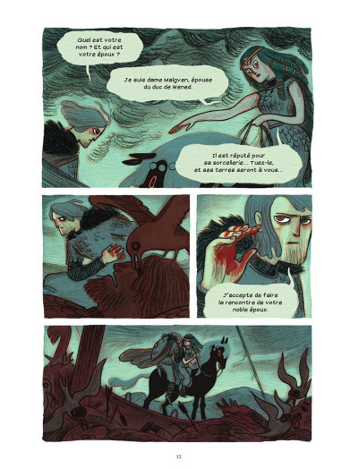 Page 7 Soeurs d'Ys - La malédiction du royaume englouti