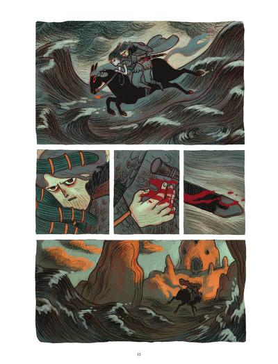 Page 8 Soeurs d'Ys - La malédiction du royaume englouti