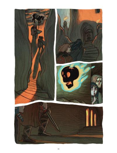 Page 9 Soeurs d'Ys - La malédiction du royaume englouti