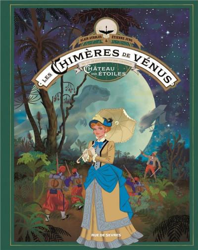 Couverture Les chimères de Vénus tome 1 (grand format)