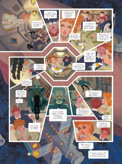 Page 5 Les chimères de Vénus tome 1 (grand format)