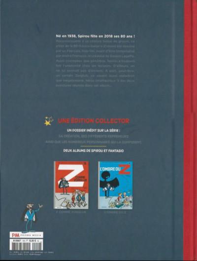 Dos Spirou et Fantasio - Deux aventures sous le signe du Z