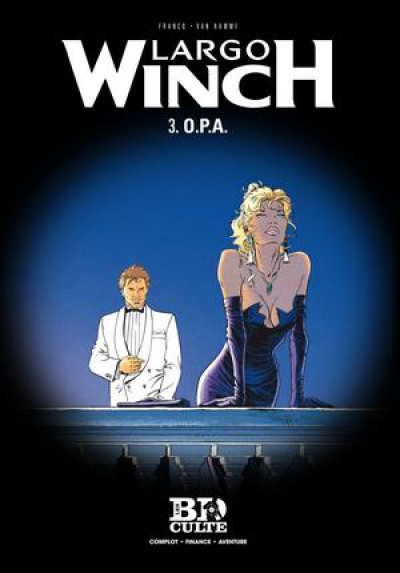 Couverture Largo Winch T.3 - O.P.A.