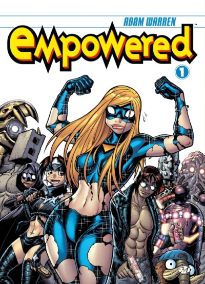Couverture empowered tome 1