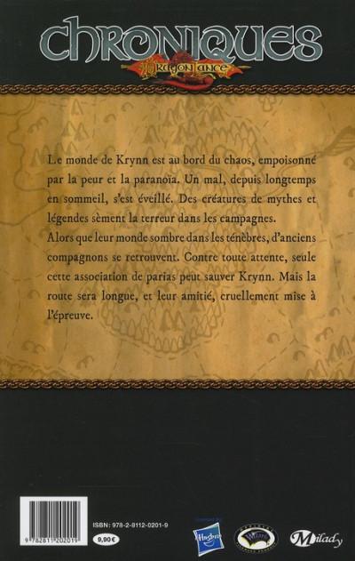 Dos chroniques de dragonlance tome 1 - dragons d'un crépuscule d'automne