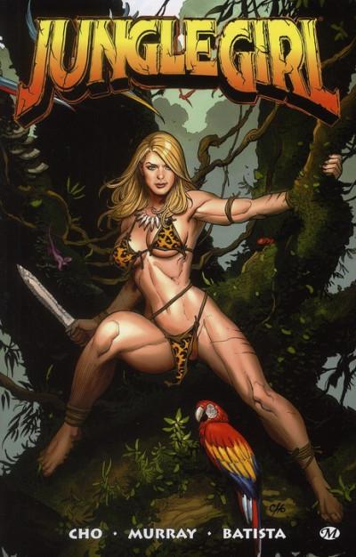 Couverture jungle girl tome 1